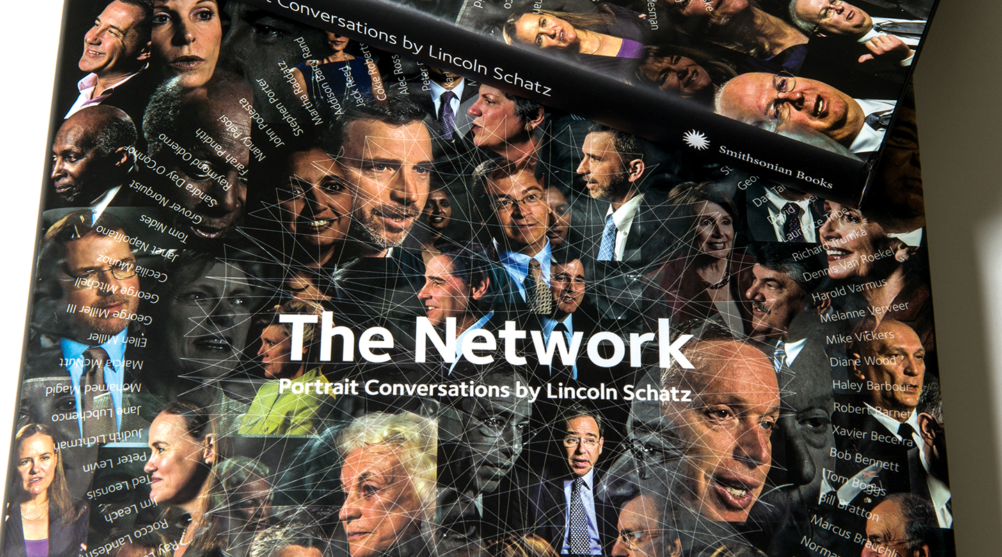The Smithsonian The Network book by Lincoln Schatz