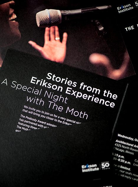 Erikson Institute Moth event