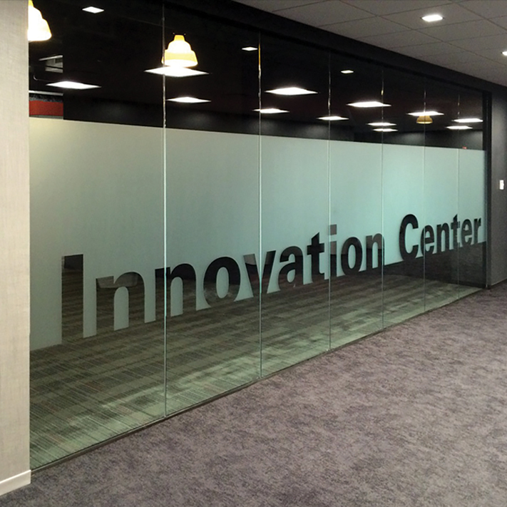 ITW interior environmental graphics
