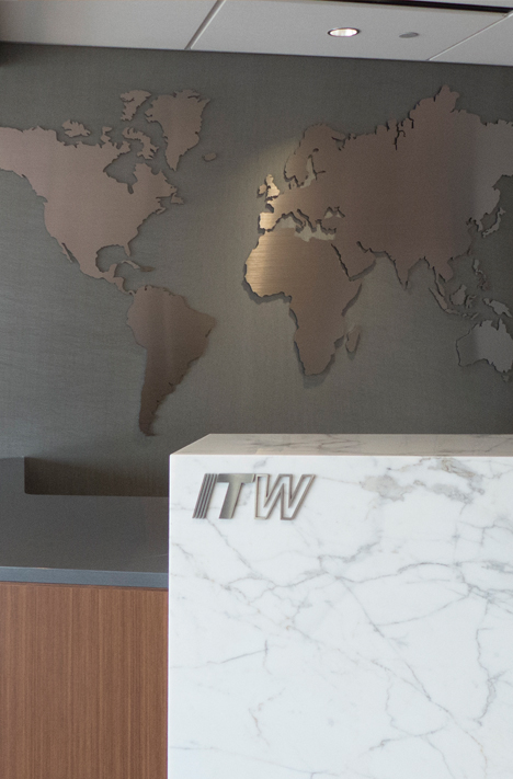 ITW reception desk