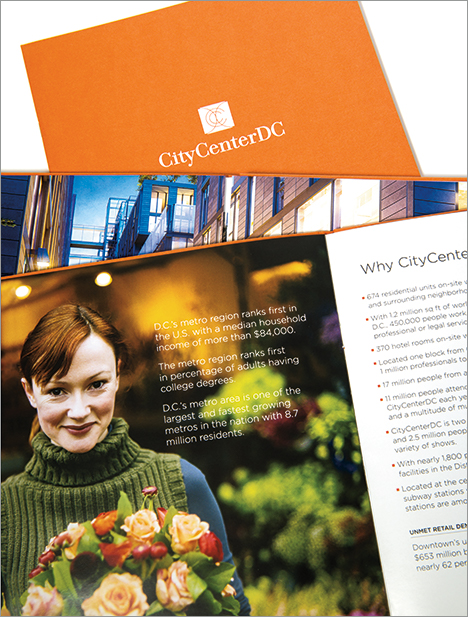 Hines City Center DC brochure cover