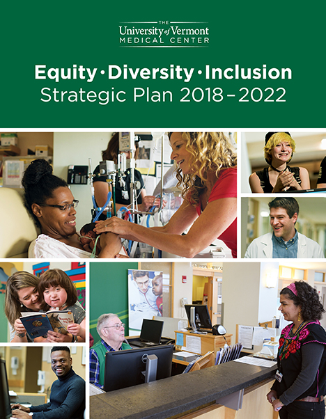 University of Vermont Medical Center Strategic Diversity Plan cover