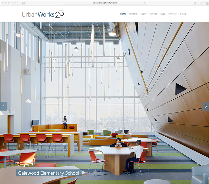 UrbanWorks website